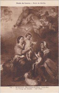 CPA Paris Bartolomé Esteban Murillo: La Vierge de Séville 1930