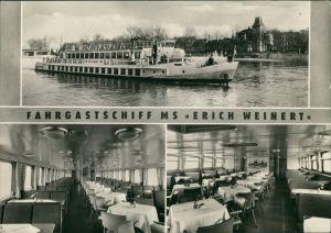 Ansichtskarte Magdeburg Weiße Flotte Magdeburg 1962