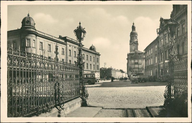 Proßnitz Prostějov  Stempel Deutsche Dienstpost Böhmen Mähren   Proßnitz 1940