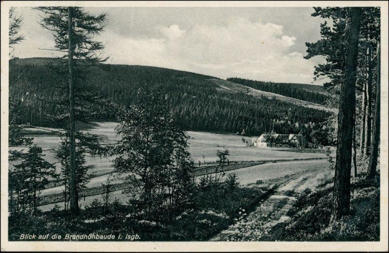 Bad Schwarzbach-Bad Flinsberg Czerniawa-Zdrój Świeradów-Zdrój Brandhöhbaude 1935