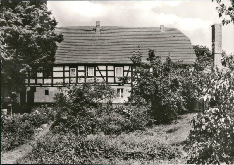 Ansichtskarte Wahrenbrück-Uebigau-Wahrenbrück Historische Mühle 1980