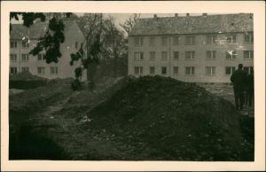 Deutschland Propaganda - DDR - Baustelle - Neubauten 1955 Privatfoto