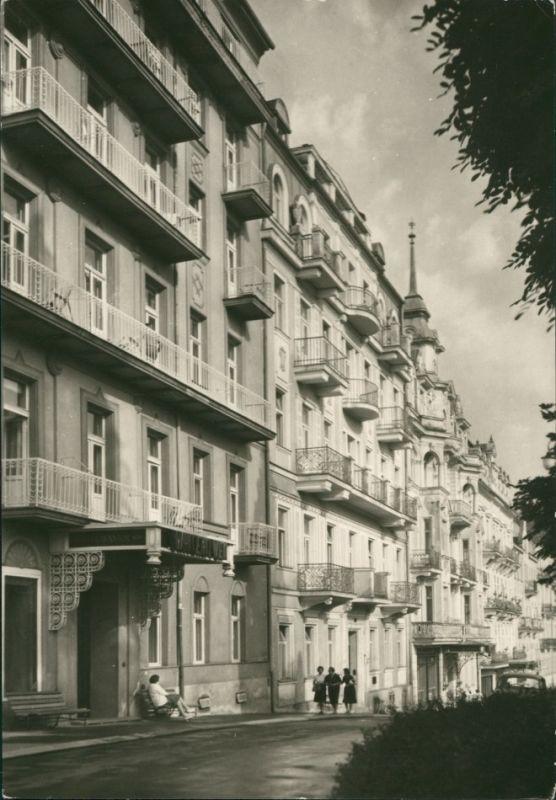Marienbad Mariánské Lázně Zotavovny ROH v Ruské třídě 1963 0