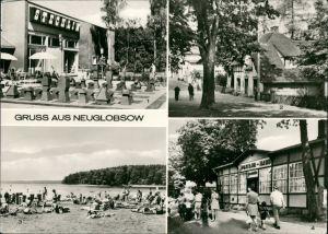 Neuglobsow-Stechlin Erholungsheim Stechlin, Dorfstraße, Stechlinsee, Theodor-Fontane-Haus 1976