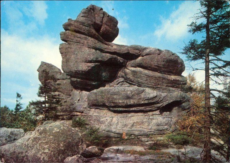 Postcard Carlsberg Karłów Gory Stolowe/Heuscheuergebirge 1975 0