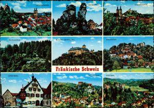 Fränkische Schweiz: Teufelshöhe, Tüchersfeld, Streitberg, Gössweinstein 1985