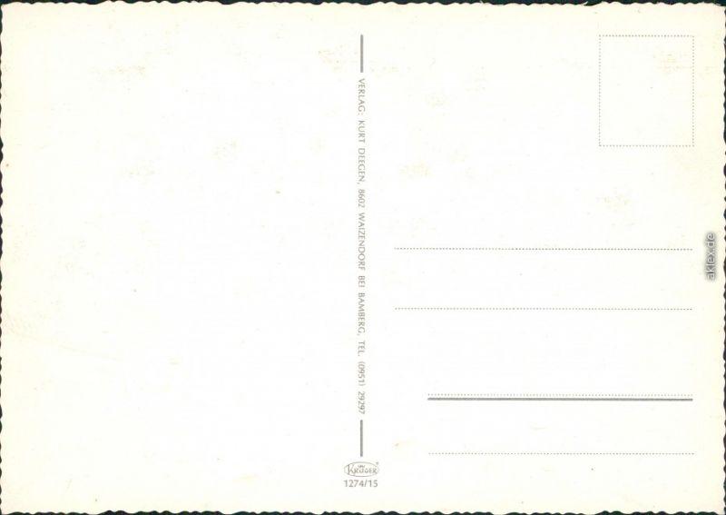 Fränkische Schweiz: Teufelshöhe, Tüchersfeld, Streitberg, Gössweinstein 1985 1