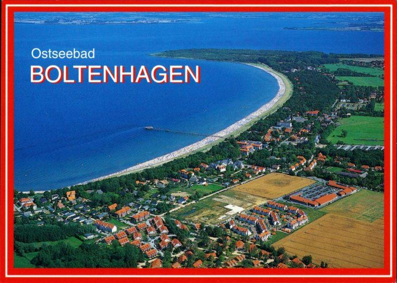 Ansichtskarte Boltenhagen Luftbild Ostseebad 1990 0