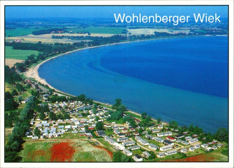 Ansichtskarte Wohlenberg-Klütz Luftbild Wohlenberger Wiek Wismarbucht 1995 0