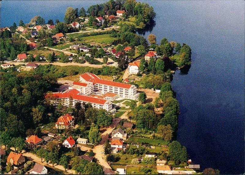 Feldberg-Feldberger Seenlandschaft  Flugzeug aus, Luftaufnahme, Luftbild 2005 0