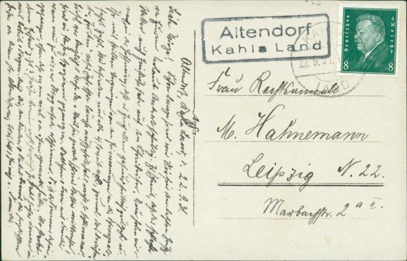 Foto Altendorf bei Kahla Kinder vor Fabrikanlage 1929 Privatfoto 1