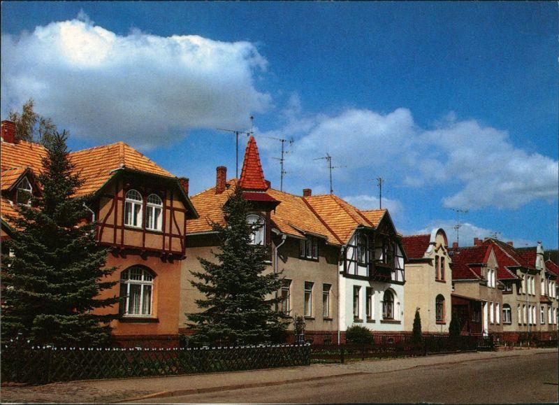 Ansichtskarte Gadebusch Häuser an der Bahnhofstraße 1995 0