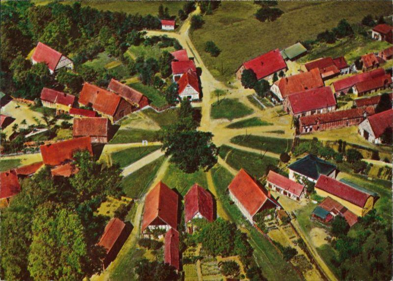 Schreyahn-Wustrow (Wendland) Runddorf Rundling Schreyahn Luftbild 1996 0
