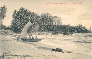 Postcard Dehiwala-Mount Lavinia-Colombo Mount Lavinia Hotel 1908