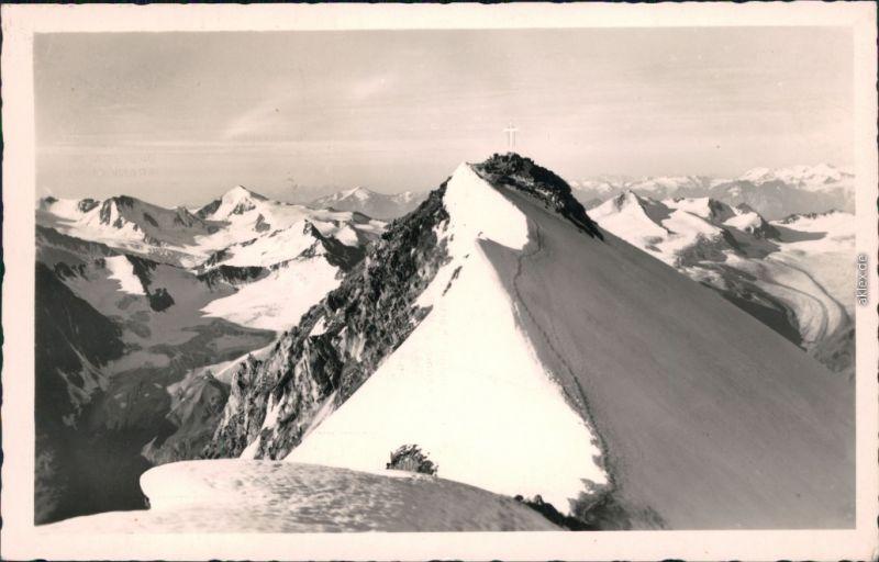 Ansichtskarte St. Leonhard im Pitztal Die Wildspitze - Ötztaler Alpen 1960