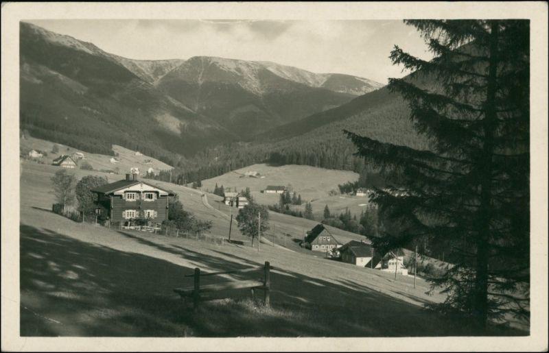 Sankt Peter Svatý Petr Špindlerův Mlýn | Spindelmühle Riesengebirge   1930