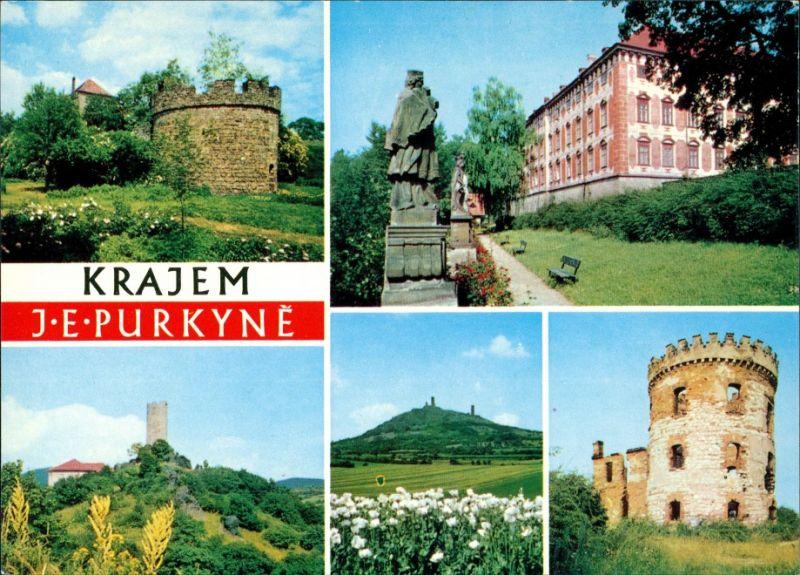 Libochovice KRAJEM J. E. PURKYNÉ: Budyně nad Ohří, Libochovice, Keblice 1985