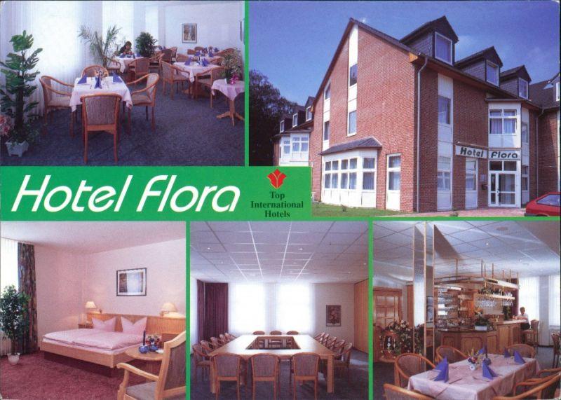 Postkarte Fredersdorf-Vogelsdorf Top International Hotel FLORA Mittelstrasse