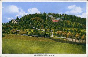 Schönfeld - Weißig-Dresden Bergwirtschaft Borsberg  AK ungelaufen 1928