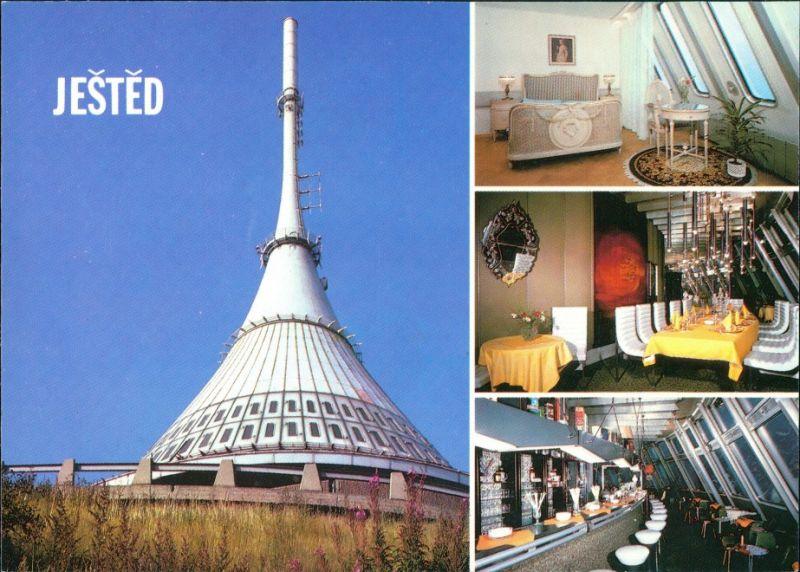 Reichenberg Liberec Hotel Ještěd/Jeschken Hotel Innenansichten 1985