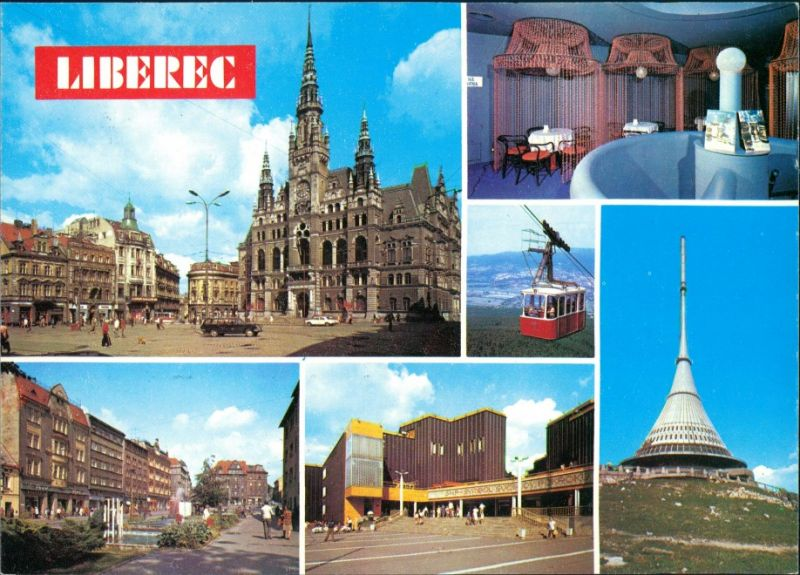 Reichenberg Liberec  ospodářské a kulturní středis- ko Severočeského kraje 1985