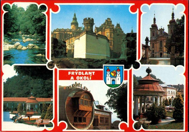 Friedland im Isergebirge Frýdlant v Čechách Zámek, Hejnice 1975