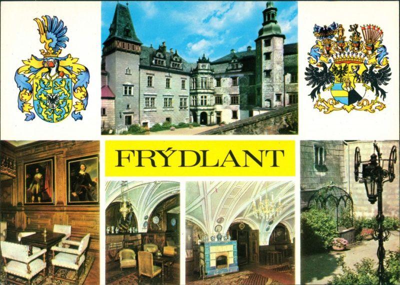 Friedland im Isergebirge Frýdlant v Čechách Státní hrad a zámek Frýdlant/n 1975