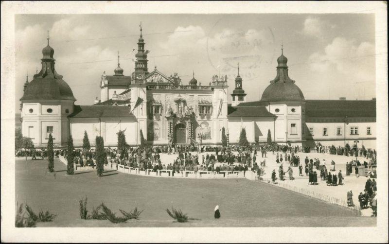 Postcard Pribram / Freiberg in Böhmen SVATÁ HORA u Příbramě 1952