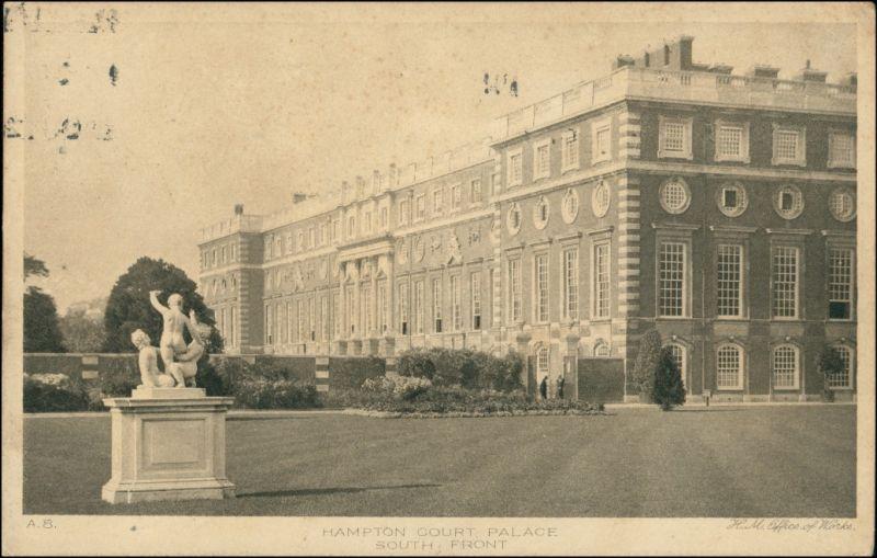 Postcard London South Front Building 1926