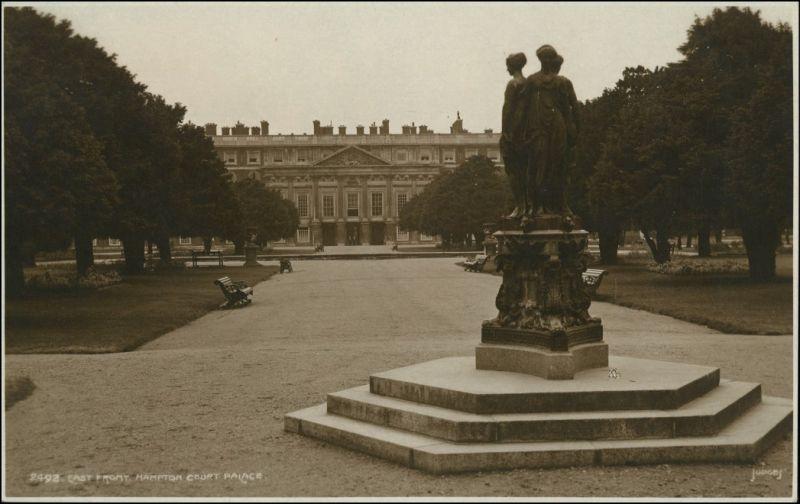 Postcard London Park View/Hampton Court Palace 1927