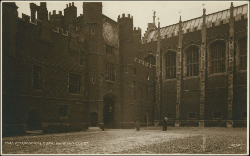 Postcard London Astronomical Clock/Glocken-Turm, Turmuhr 1926