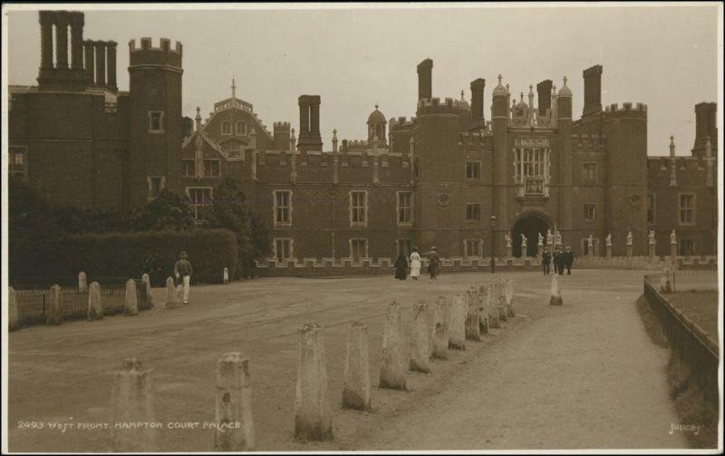 Postcard London West Front Building 1926
