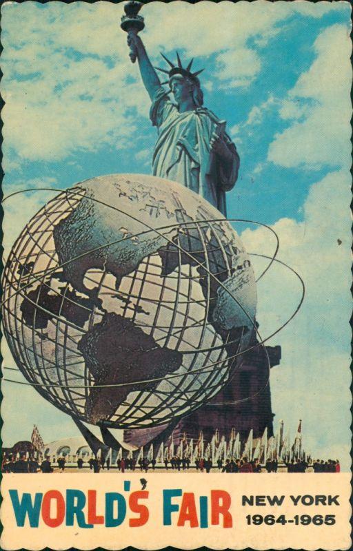 Manhattan-New York City USA - New York - New York City (Manhattan)   Fair 1964