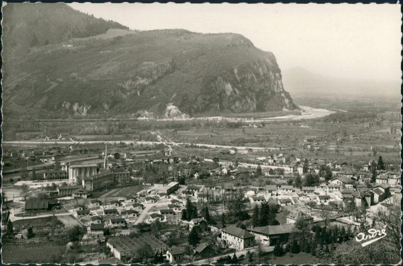 CPA Voreppe Voreppe Stadt und Fabriken 1957