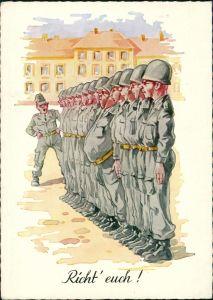 Ansichtskarte  Militär/Propaganda - Soldatenleben