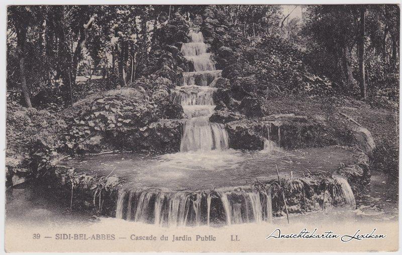 Sidi bel Abbès سيدي بلعباس Partie in den Parkanlagen 1927