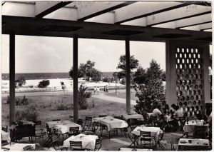 Nessebar Несебър Das Kasino Foto Ansichtskarte Bulgaria1961