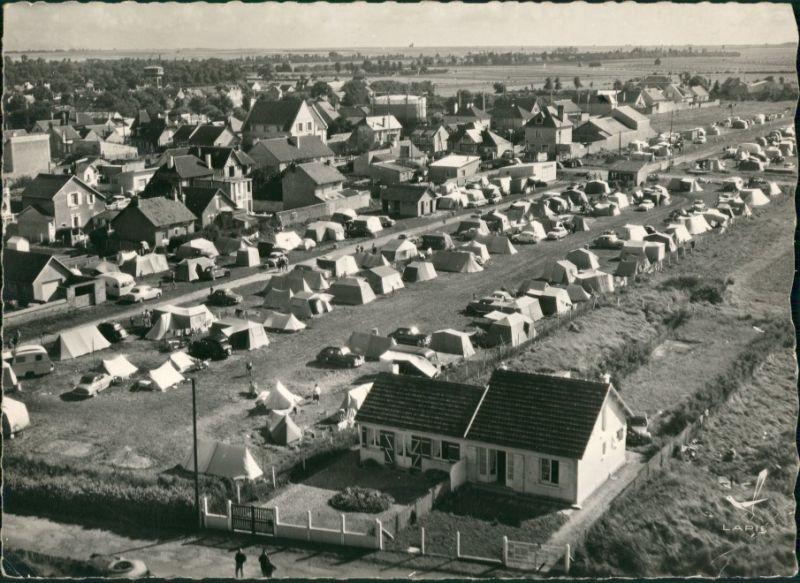 Lion-sur-Mer Vue aérienne, Camping/Luftaufnahme Campingplatz  1960 0