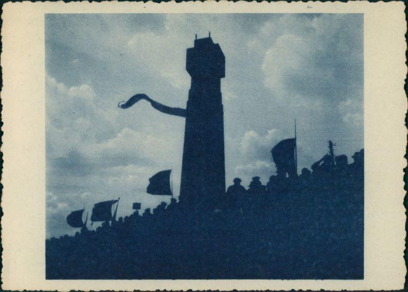Diksmuide Dixmude Inauguration Yser-Tower/Einweihung des Yser-Turm 1930 0