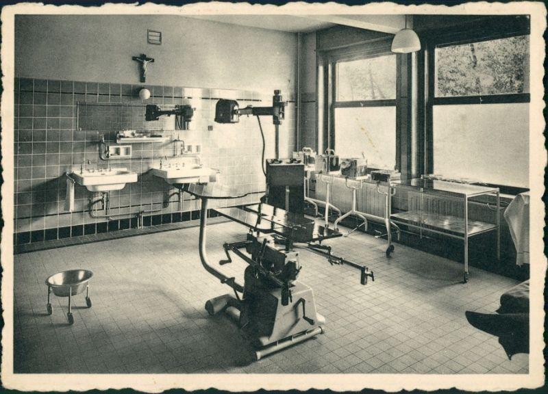 Antwerpen Anvers Sint Lucas Kliniek Ekeren-Laer/Operationssaal Krankenhaus 1965 0