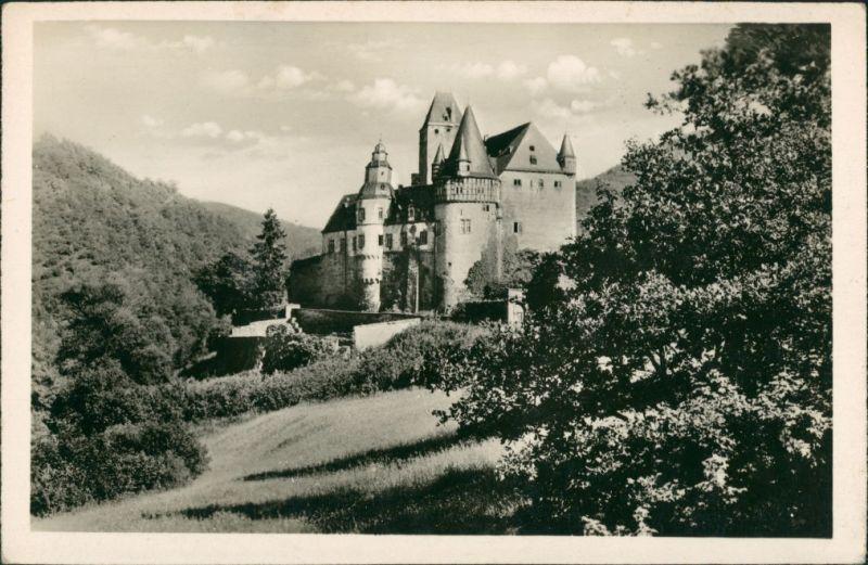 Ansichtskarte Mayen Ansicht Schloss Bürresheim, Eifel 1925