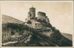 Bernkastel-Kues Berncastel-Cues Burg Ruine Landshut,  Mosel-Region 1930