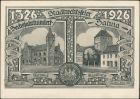 Ansichtskarte Zahna-Elster Jubiläumskarte 600 Jahre Künstlerkarte 1926
