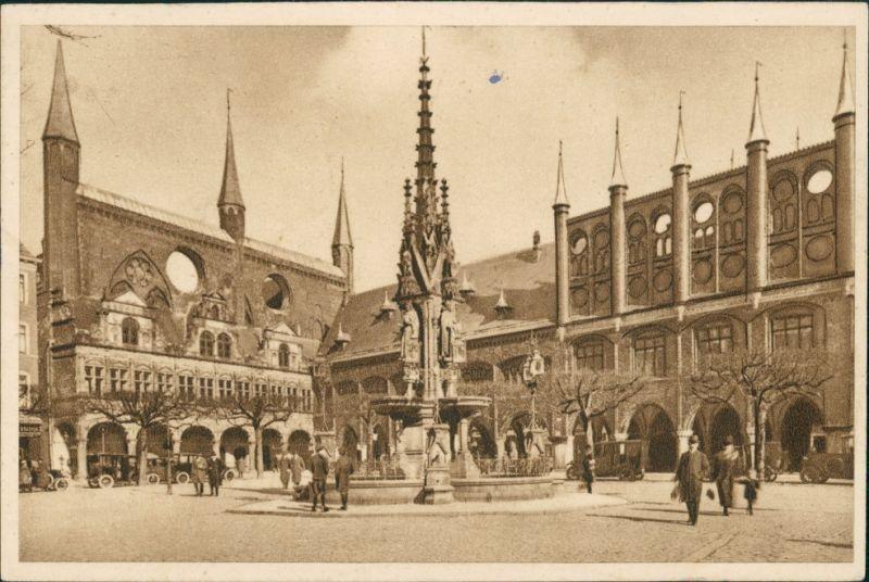 Lübeck Ganzsache   Stempel Ostende Trinkwassertalsperre1935