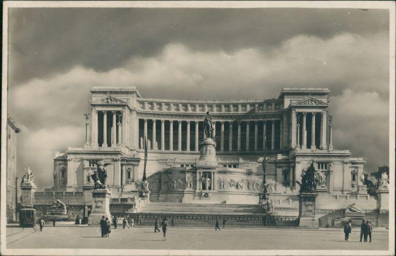 Cartoline Rom Roma Monumento a Vittorio Emanuele 1925