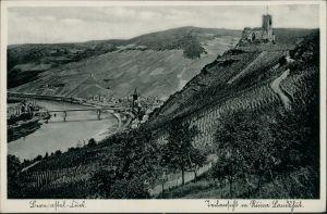 Bernkastel-Kues Berncastel-Cues Burg Landshut, Mosel Blick, Ortschaften 1936