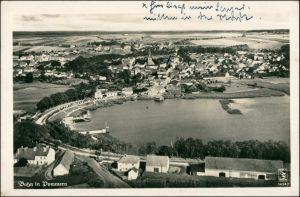 Bahn Pommern Banie Luftbild b Stettin  Szczecin Greifenhagen Gryfino  1941
