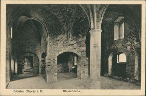 Ansichtskarte Chorin Kloster Chorin Mecklenburg, Klosterküche, Küche 1925