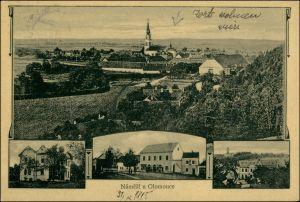 Postcard Olmütz Olomouc Namesti u Olomouce Mehrbild 1911