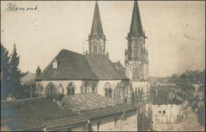 CPA Blâmont (Blankenberg) Fotokarte - Straßenpartie WK1 1916